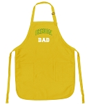 University of Oregon Dad Apron Yellow - MADE in the USA!