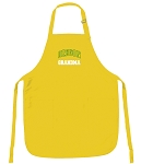 University of Oregon Grandma Apron Yellow - MADE in the USA!