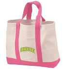 University of Oregon Tote Bags Pink