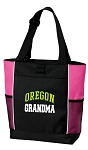 University of Oregon Grandma Tote Bag Pink