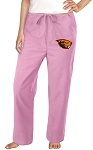 Oregon State Pants Scrubs Bottoms Pink