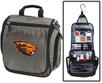 Oregon State University Toiletry Bag or Shaving Kit Gray
