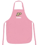 Purdue Grandma Apron Pink - MADE in the USA!