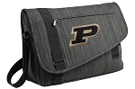 Purdue Messenger Laptop Bag Stylish Charcoal