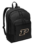 Purdue University Backpack - Classic Style