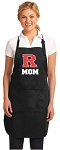 Official Rutgers University Mom Apron Black