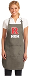 Official Rutgers Mom Apron Tan