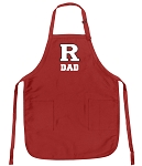 RUTGERS Dad Aprons Red