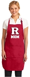 RUTGERS Mom Aprons Red