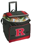 RUTGERS Rolling Cooler Bag Red