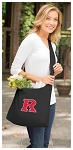 RUTGERS Tote Bag Sling Style Black