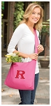 RUTGERS Tote Bag Sling Style Pink