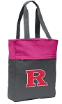 RUTGERS Tote Bag Everyday Carryall Pink