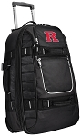 RUTGERS Rolling Carry-On Suitcase