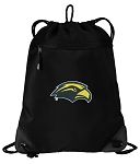 Southern Miss Drawstring Backpack-MESH & MICROFIBER