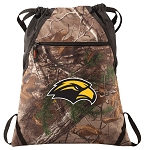 USM Southern Miss RealTree Camo Cinch Pack