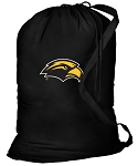 Southern Miss Laundry Bag Black