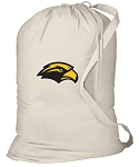 Southern Miss Laundry Bag Natural
