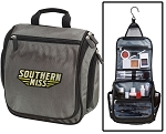 Southern Miss Toiletry Bag or USM Shaving Kit Gray