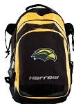 Southern Miss Harrow Field Hockey Lacrosse Backpack Bag Yellow