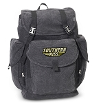 Southern Miss LARGE Canvas Backpack Black