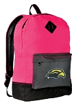 Southern Miss Logo Backpack Classic Style HOT PINK