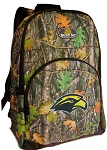 Southern Miss Logo Backpack REAL CAMO DESIGN