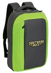 Southern Miss SLEEK Laptop Backpack Green