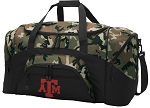 Official Texas A&M Camo Duffel Bags