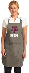 Texas A&M Mom Deluxe Apron Khaki