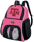 Texas A&M Girls Soccer Backpack