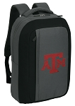 Texas A&M SLEEK Laptop Backpack Black