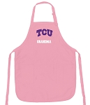 TCU Grandma Apron Pink - MADE in the USA!