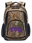 TCU RealTree Camo Backpack