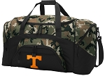 Official University of Tennessee Camo Duffel Bags