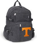 University of Tennessee Canvas Backpack Black