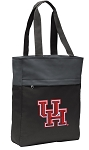University of Houston Tote Bag Everyday Carryall Black