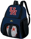 University of Houston SOCCER Backpack or VOLLEYBALL Bag