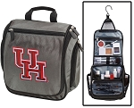 University of Houston Toiletry Bag or Shaving Kit Gray