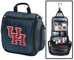 University of Houston Cosmetic Bag or Shaving Kit Travel Bag Blue