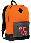 University of Houston Backpack Classic Style Cool Orange