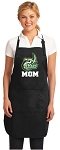 Official UNC Charlotte Mom Apron Black