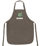 Official UNCC Grandpa Apron Tan