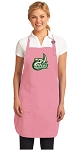 Deluxe UNCC UNC Charlotte Apron Pink - MADE in the USA!
