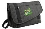 UNCC Messenger Laptop Bag Stylish Charcoal