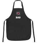 Official University of South Carolina Dad Apron Black