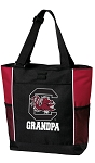 University of South Carolina Grandpa Tote Bag Red