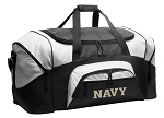 Naval Academy Duffel Bags or USNA Navy Gym Bags For Men or Women