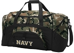 Official Naval Academy Camo Duffel Bags