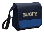 USNA Navy Lunch Bag Cooler Blue